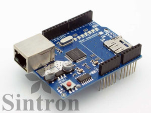 [Sintron]Ethernet Network Shield W5100 for Arduino UNO 328 Mega 2560 1280 - Sintron