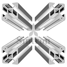 [Sintron]Kossel mini delta 3D printer 20mm x 20mm 4-slot Aluminum Extrusion Cover Kit - Sintron