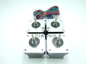 [Sintron]NEMA 17 1.8° 2.6 kg.cm Torgue flat shaft Stepper Motor for 3D Printer RepRap - Sintron
