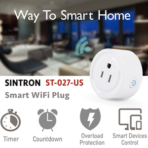 2X Sintron ST-027 US Smart Plug Socket - for Developer Version - Sintron