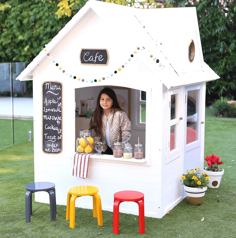 Kids Cafe Furniture: Furniture And Decor Ideas For Fabulous Cubby Houses
