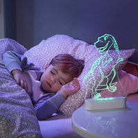 Aloka LED Sleepy Light - T-Rex- DUAL POWERED