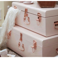 Belle and Co Storage Case Set Pink