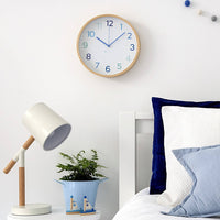 Clocksicle Wall Clock Blue