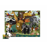 Crocodile Creek 36pc Puzzle Jungle Friends