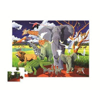 Crocodile Creek 36pc Puzzle Wild Safari