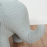 HABITAT101 Ellie the Elephant Jnr Small Chair Light Grey
