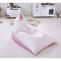 ARYA Canvas Bean Bag - Pink