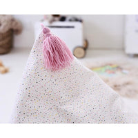 ARYA Canvas Bean Bag-Pink