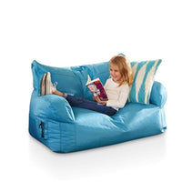 Brady 2 Seater Bean Bag Blue