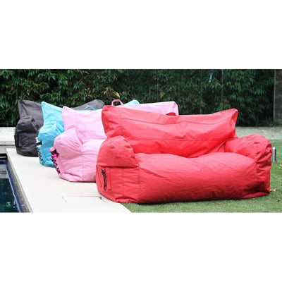 Brady 2 Seater Bean Bag-Blue