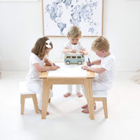Britta Activity Table & 2 Bench Chair Set