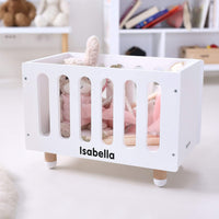 Doll Bed Cot - White