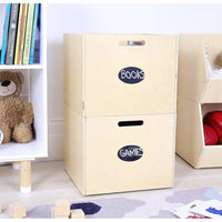 Felix Storage Unit & 2 Cube Set-White