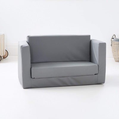 Finley 2 seater kids flip out grey