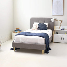HARLOW Single Upholstered Bed