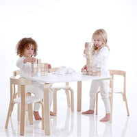 Jensen Table & 4 Chairs Set