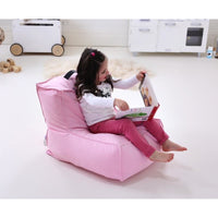 JUNO Canvas Bean Bag-Pink