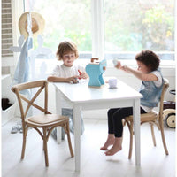 Kids Hampton 2 Chairs & Table Set Natural