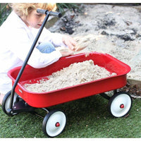 Kids Steel Toy Wagon Red