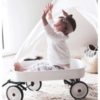 Kids Steel Toy Wagon White