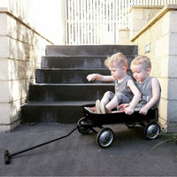 Kids Steel Toy Wagon-Black