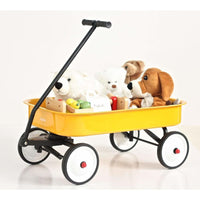 Kids Steel Toy Wagon-Yellow