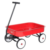Kids Steel Toy Wagon Red w/ White Wheels red