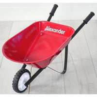 Kids Steel Toy Wheelbarrow-Green