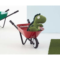 Kids Steel Toy Wheelbarrow red