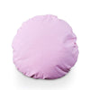 Large Solid 70cm Round Floor Cushion Pink