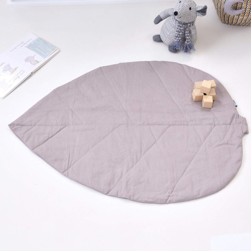 Leaf Playmat-Grey