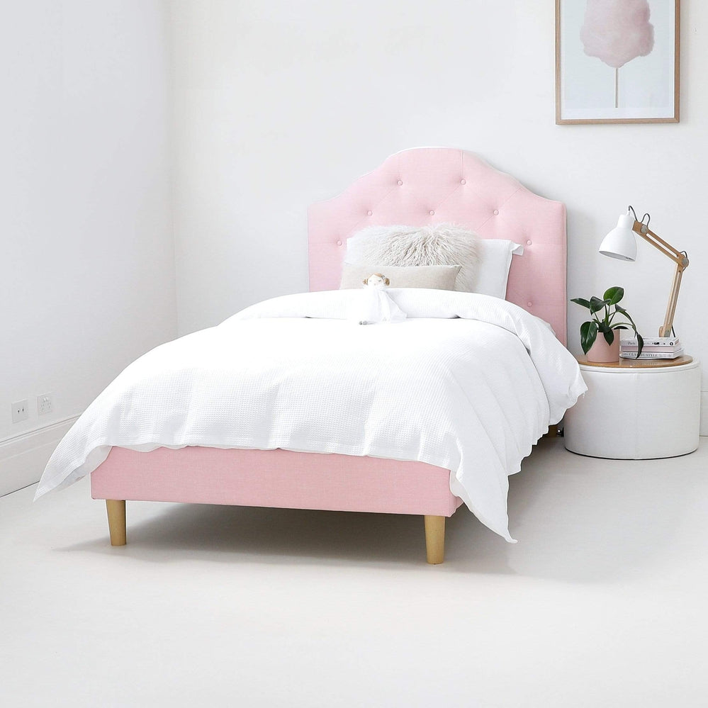 new arrival 61530 f5313 MIA King Single Upholstered Bed