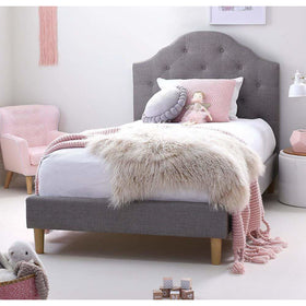 MIA Single Upholstered Bed