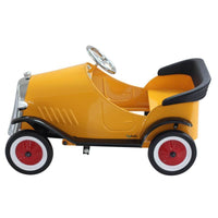 Ride On Steel Vintage Pedal Car-Cobalt Blue