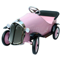 Ride On Steel Vintage Pedal Car-Pink