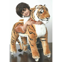 Ride On Walking Toy Tiger - Large-