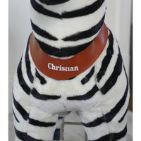 Ride On Walking Toy Zebra - Large-