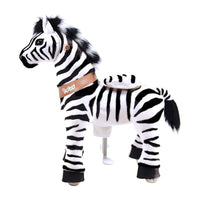Ride On Walking Toy Zebra - Small