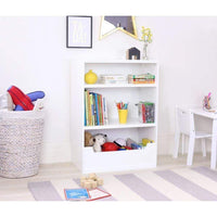 Tatum White Bookcase Unit