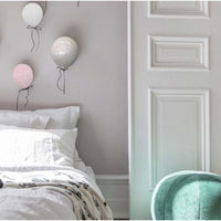 Wall Mounted Decorative 1/2 Balloon (20cm) Pink