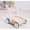 Wooden Baby Walker with Block Set