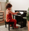 Wooden Musical Toy Piano Black
