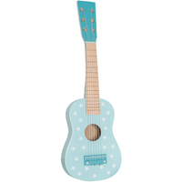 JaBaDaBaDo Wooden Toy Guitar Blue