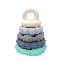 Jellystone Rainbow Stacker Teether Toy Ocean