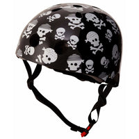 Kiddimoto Kids Bike Helmet - Small Skull