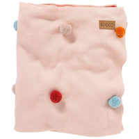 Kip and Co Mix Bag Pompom Cotton Blanket - Throw