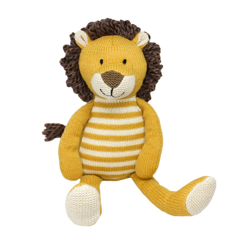 Arthur Stripey Lion soft toy by Lily & George