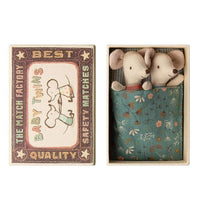 Maileg - Mouse Baby Twins in box