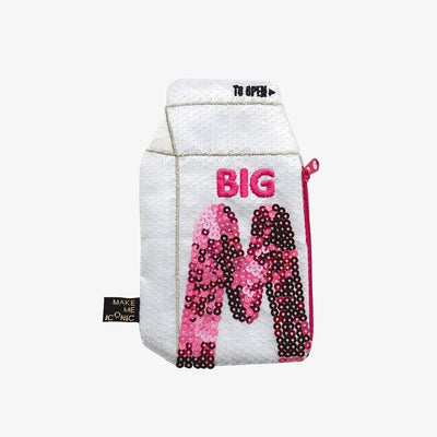 Make Me Iconic Sequin Purses Big M